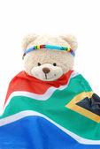 South African teddy bear — Stock Photo