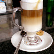 Stock Photo: Latte Macchiato