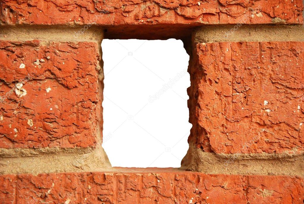 Как сделать отверстие в кирпичной стен