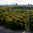 Aerial view of central Berlin — Stock Photo