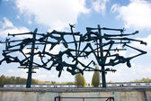 Dachau concentration camp memorial — Stock Photo