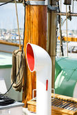 Air vent on boat — Foto Stock