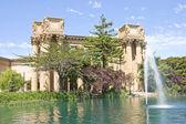 Palace of fine arts, san francisco, california, usa — Stock Photo