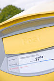 Swedish post box — Stock Photo