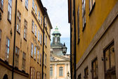 Old town in Stockholm — Stock Photo