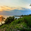 Sunset at Bayfield Beach — Stock Photo