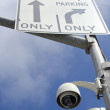 Surveillance cameras - Stock Photo