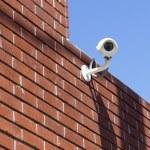 CCTV surveillance camera — Stock Photo