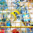Various plastic garbage - Foto Stock
