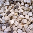 Large heap of stacked cobbles — Stock Photo #7148380