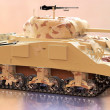Military toy tank — Stock Photo