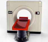 Tomografia computadorizada — Fotografia Stock