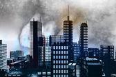 Armageddon in New York — Stock Photo