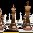 Chess battle — Stock Photo #7554045