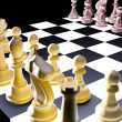 Chess battle — Stock Photo #7557171