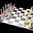 Chess battle — Stock Photo #7560093