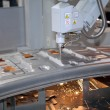 Stock Photo: Laser cutting