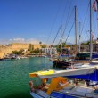 Постер, плакат: Old habour in Cyprus
