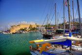 Vecchio habour in cipro — Foto Stock