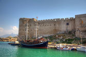 Old habour in Cyprus — Stock Photo