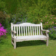 Royalty-Free Stock Photo: Garden bench