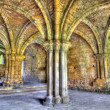 Historic ruins of Medieval Abbey — Stock Photo #7672156