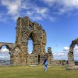 whitby abbey — Stock Photo #7672396