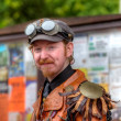 Man in Steampunk outfit — Stock Photo