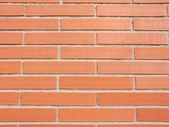 A bricks wall detail, as a texture o wallpaper — Stock Photo