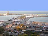 Porto de barcelona — Fotografia Stock