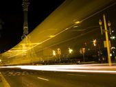 Traffic lights blur — Stock Photo