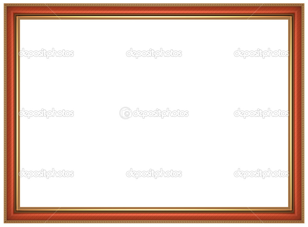 Frame for picture isolated on white background — Stock Photo #6825831