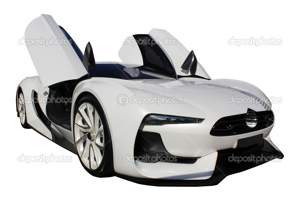 Sport car isolated  on a white background — Stock Photo #6952476