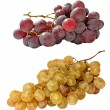 Grapes tow — Stock Photo