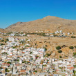 Stock Photo: Lindos town