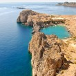 Lindos - St.Pauls Bay — Stock Photo #7185590