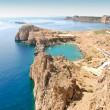 Stock Photo: Lindos - St.Pauls Bay