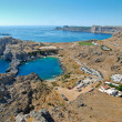 Lindos - St.Pauls Bay — Stock Photo #7185604