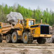 Excavation and dump vehicle — Stock Photo #7792477