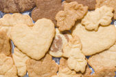 Butter Cookies for celebrations — Stock Photo