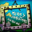 Greeting merry christmas ho ho ho — Stock Photo #6881771