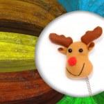 Rudolf Christmas Cards — Stock Photo