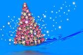 """Christmas Card """"Christmas is coming"""" — Stock Photo"""