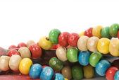 изолированные бисера ожерелье — Стоковое фото