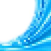 Pixel blue background — Stock Photo