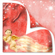 Christmas Angel Cards - Stock Photo