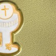 First communion chalice background — Stock Photo #7329269