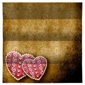 Love parchment — Stock Photo