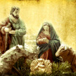 Christmas Cards, Nativity scene — Stock Photo #7471205