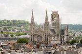 кафедральный собор в руане, франция — Стоковое фото